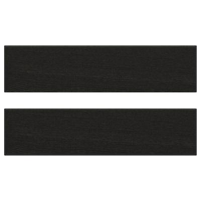 LERHYTTAN Fronta ladice, crni bajc, 40x10 cm