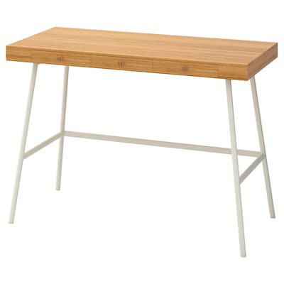 LILLÅSEN Radni stol, bambus, 102x49 cm