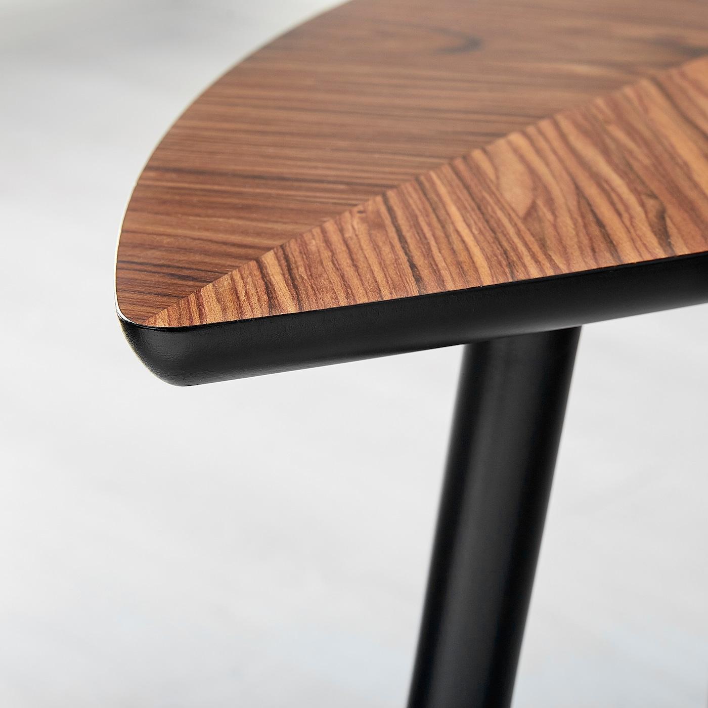 LÖVBACKEN pomoćni stol srednje smeđa 77 cm 39 cm 51 cm