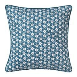 LÖVKOJA, ukrasna jastučnica, 50x50 cm, plava/bijela