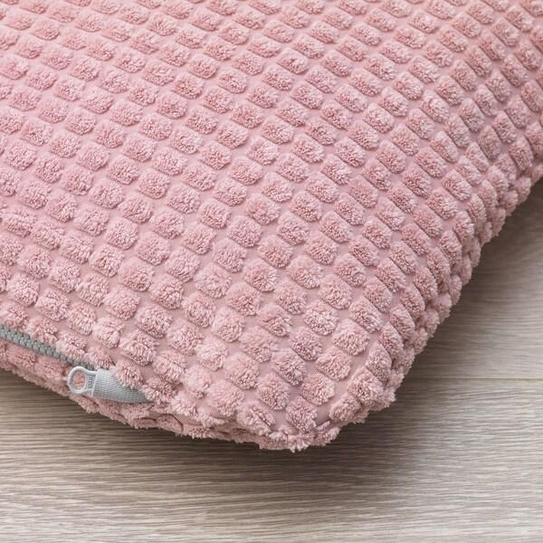 LURVIG ukrasni jastuk roza 38 cm 33 cm 6.0 cm 90 g 200 g