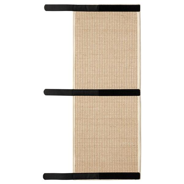 LURVIG Tepih za grebanje, prirodna boja, 25x63 cm