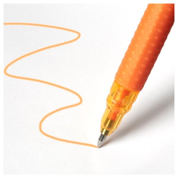 MÅLA kemijska olovka, gel raznobojno 8 kom