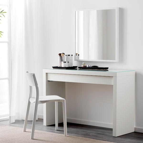MALM Toaletni stolić, bijela, 120x41 cm