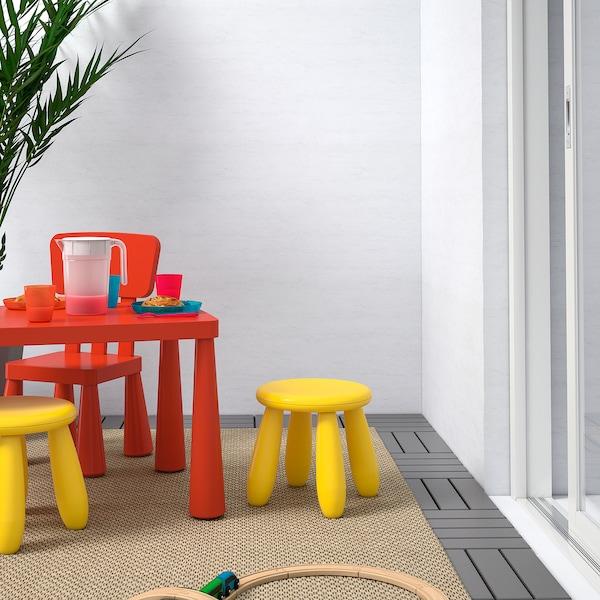 MAMMUT Dječji stolac, u zatvorenom/na otvorenom/žuta