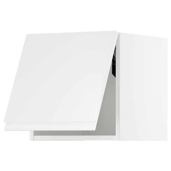 METOD zidni element,vodoravni bijela/Voxtorp visoki sjaj/bijela 40.0 cm 38.6 cm 40.0 cm
