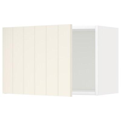 METOD Zidni element, bijela/Hittarp krem, 60x40 cm