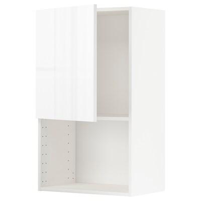 METOD Zidni element za mikrovalnu pećnicu, bijela/Ringhult bijela, 60x100 cm