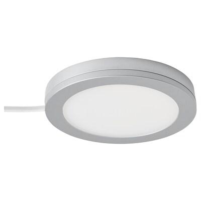 MITTLED LED reflektor, prigušivo boja aluminija