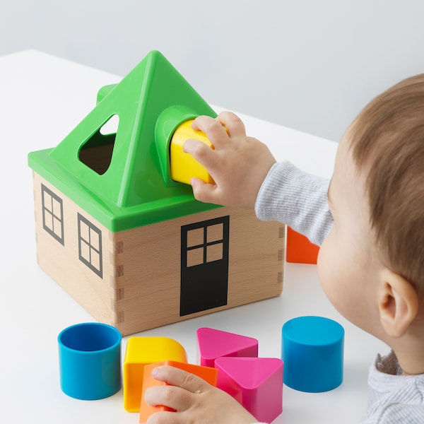 MULA Didakt igračka,razvrst oblika, višebojno