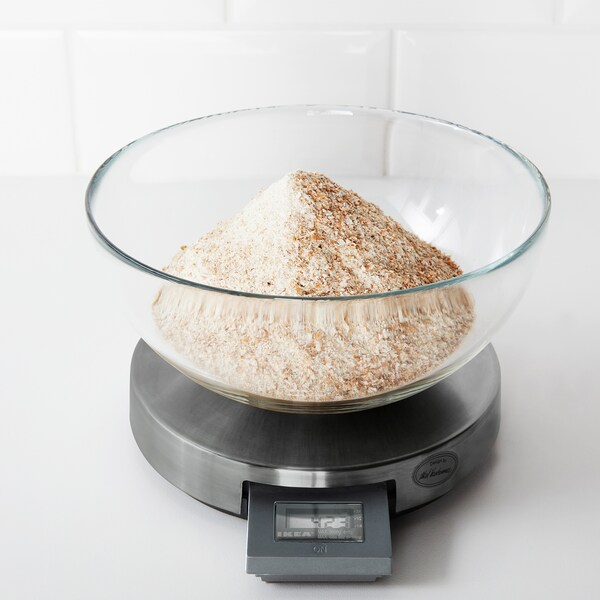 ORDNING Kuhinjska vaga, nehrđajući čelik, 3 kg