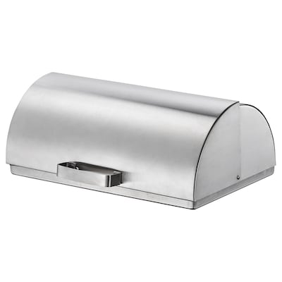 ORDNING Kutija za kruh, nehrđajući čelik