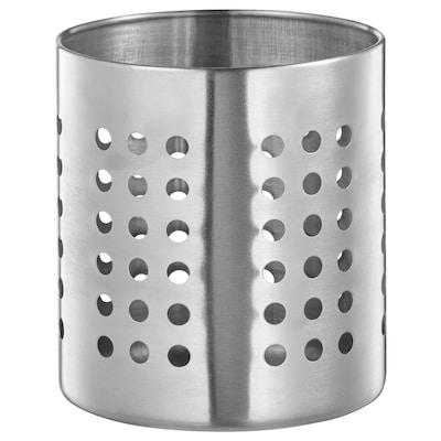 ORDNING Stalak za pribor za jelo, nehrđajući čelik, 13.5 cm