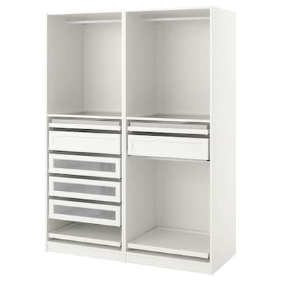 PAX Komb/ormar, bijela, 150x58x201 cm