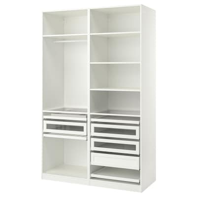 PAX Komb/ormar, bijela, 150x58x236 cm