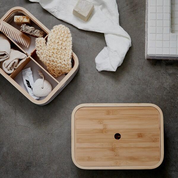 RABBLA Kutija s odjeljcima, 25x35x10 cm