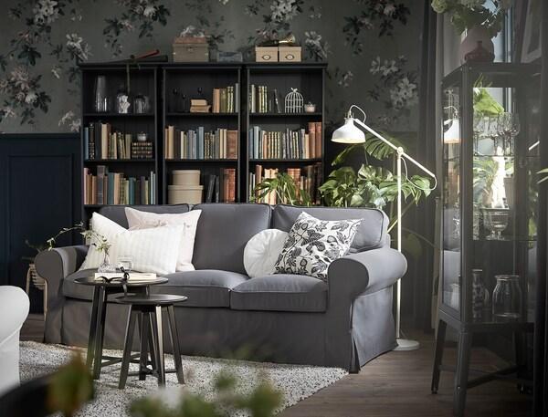 RANARP Podna lampa/za čitanje, krem