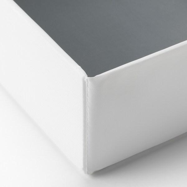 RASSLA Kutija s odjeljcima, bijela, 25x41x9 cm