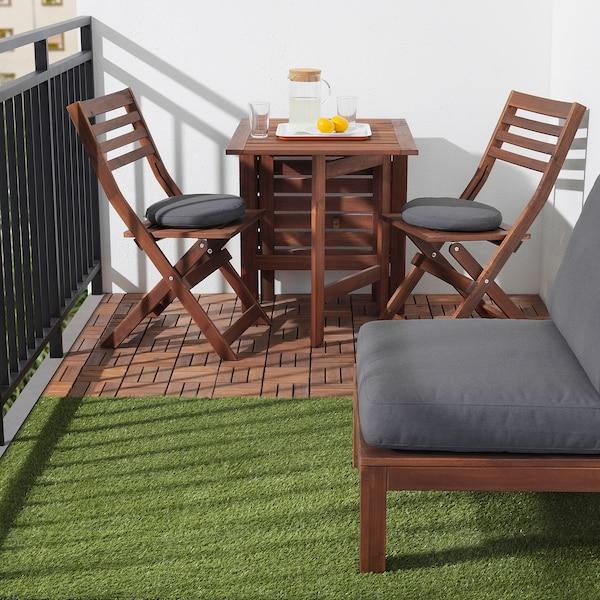 RUNNEN Podne obloge, vanjske, umjetna trava, 0.81 m²