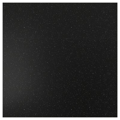 SIBBARP Zidna ploča po mjeri, crna efekt minerala/laminat, 1 m²x1.3 cm