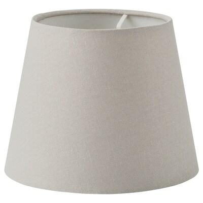 SKOTTORP Sjenilo lampe, svijetlosiva, 19 cm