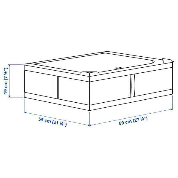 SKUBB Futrola za odlaganje, bijela, 69x55x19 cm