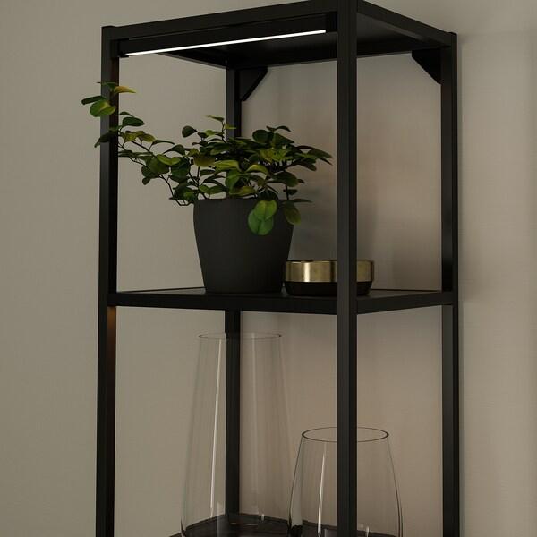 SKYDRAG LED rasvj traka za rad plč/orm+senz, prigušivo antracit, 40 cm