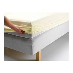 SLUMRA navlaka za krevet, 90x200 cm, prirodna boja