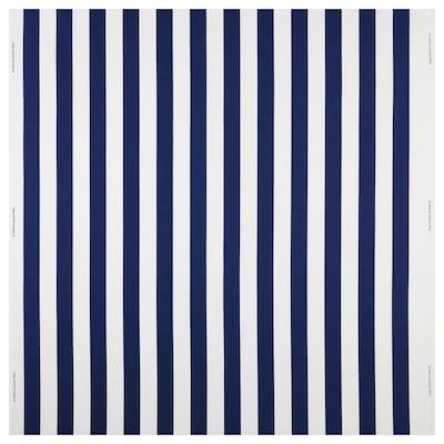 SOFIA Tkanina, široke crte/plava/bijela, 150 cm