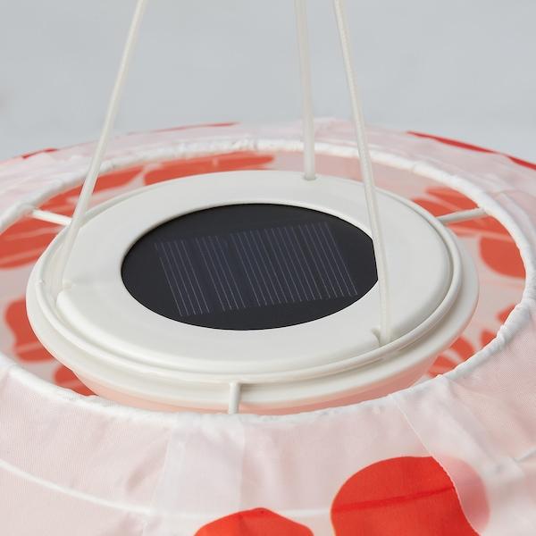 SOLVINDEN LED solarna visilica, na otvorenom kugla/cvijet, 45 cm