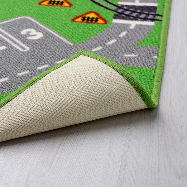 STORABO tepih zelena 133 cm 75 cm 0.99 m²