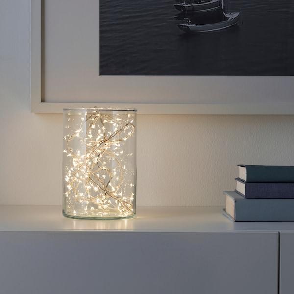 STRÅLA LED rasvjetni lanas s 160 svjetala, na baterije mini