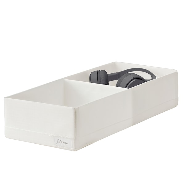 STUK Kutija s odjeljcima, bijela, 20x51x10 cm