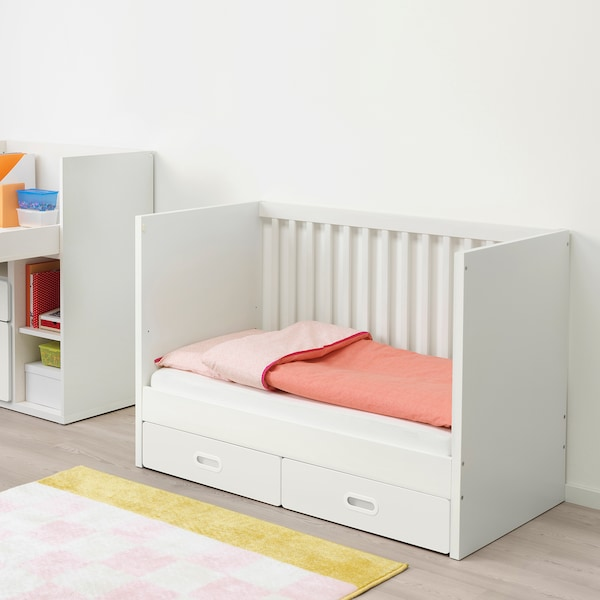 STUVA / FRITIDS krevetić+ladice bijela 126 cm 66 cm 86 cm 60 cm 120 cm 20 kg