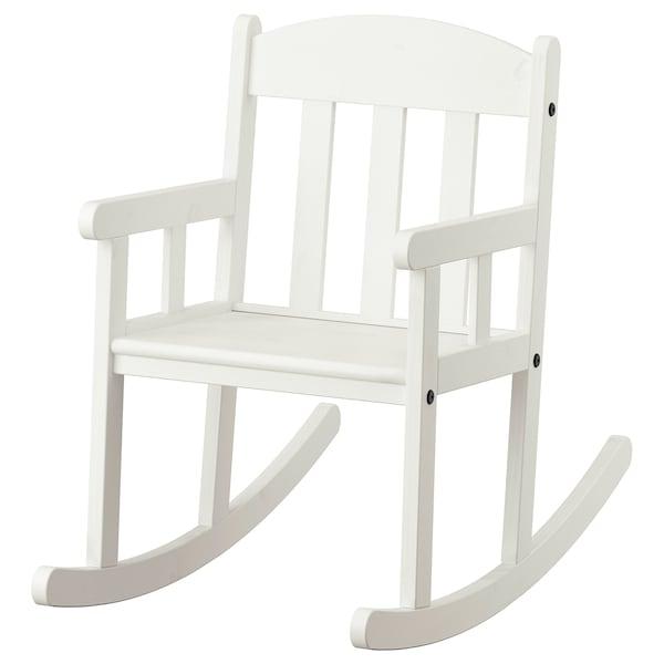 SUNDVIK Stolica za ljuljanje, bijela