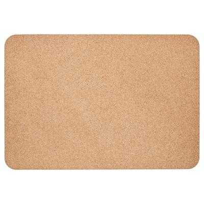 SUSIG Podloga za radni stol, pluto, 45x65 cm