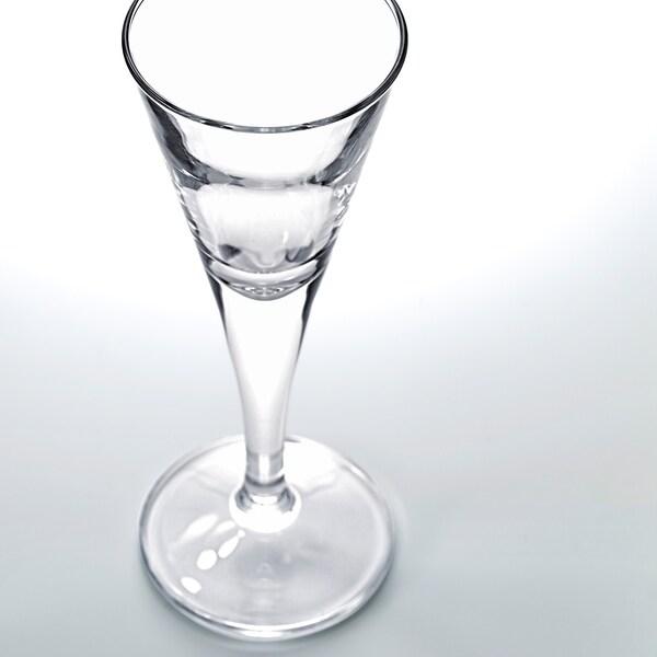 SVALKA Čaša, žestoko alkoholno piće, prozirno staklo, 4 cl