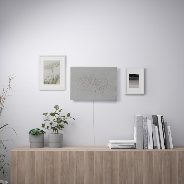 SYMFONISK Okvir za sliku s WiFi zvučnikom, bijela