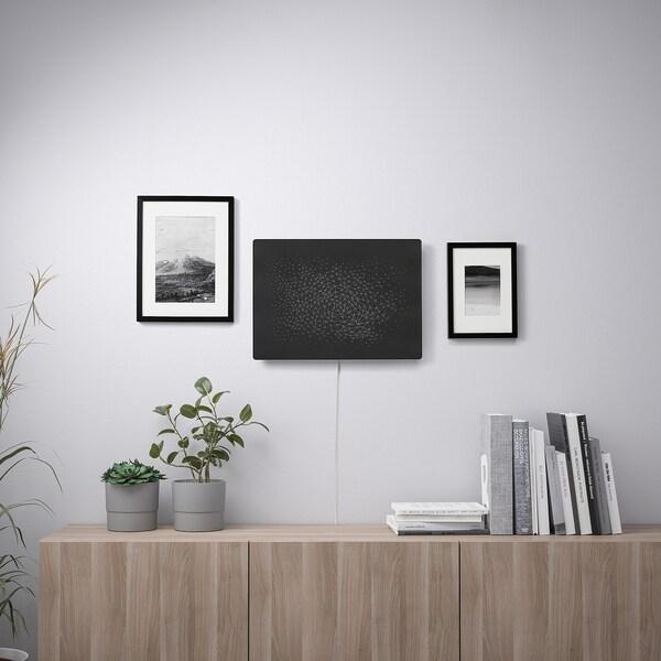 SYMFONISK Okvir za sliku s WiFi zvučnikom, crna
