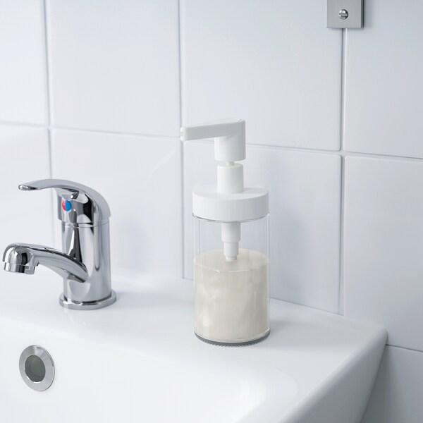 TACKAN dozator sapuna bijela 17 cm 200 ml