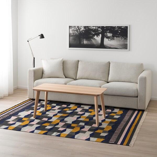 TÅRBÄK tepih, ravno tkanje ručno izrađeno/višebojno 240 cm 170 cm 4 mm 4.08 m² 1400 g/m²