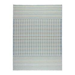 TJÄREBY, tepih, ravno tkanje, 170x240 cm, ručno izrađeno plava