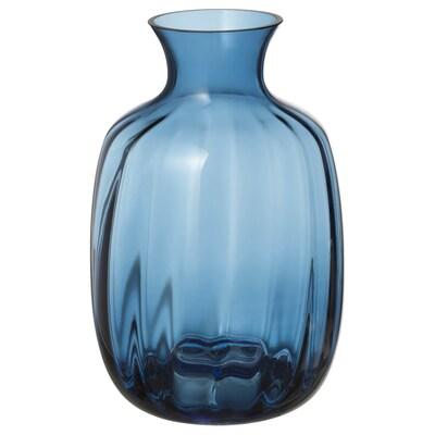 TONSÄTTA Vaza, plava, 21 cm