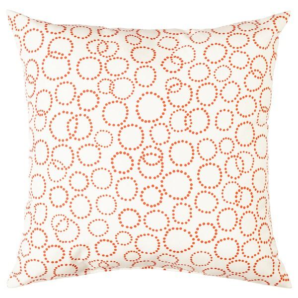 TRÄDASTER ukrasni jastuk bijela/narančasta 40 cm 40 cm 170 g 190 g