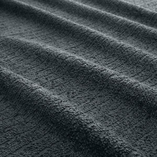 TRÄTTEN ručnik za kosu tamnosiva/bijela 720 mm 265 mm 2 kom