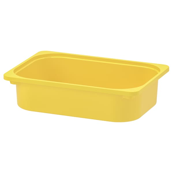 TROFAST Kutija za odlaganje, žuta, 42x30x10 cm
