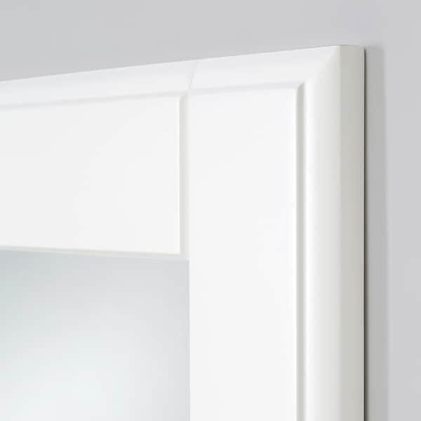 TYSSEDAL Vrata sa šarkama, bijela/zrcalno staklo, 50x229 cm