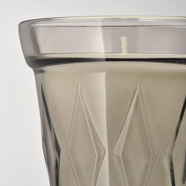 VÄLDOFT mirisna svijeća u čaši Slani slatkiši/siva 8 cm 8 cm 25 h