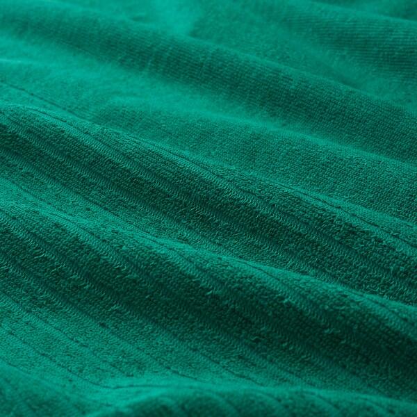 VÅGSJÖN ručnik za goste tamnozelena 50 cm 30 cm 0.15 m² 400 g/m² 2 kom