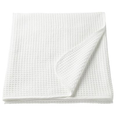 VÅRELD Prekrivač za krevet, bijela, 150x250 cm